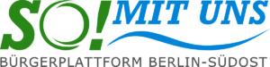 """Logo der Bürgerplattform """"SO mit uns"""""""